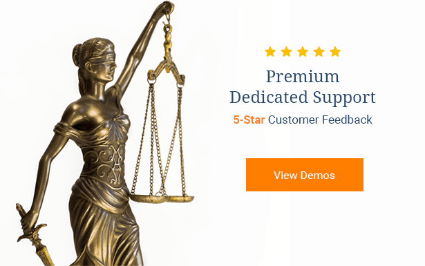 Lawyer HTML Template Demos